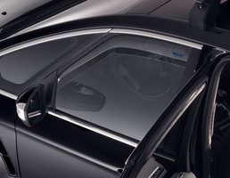 ClimAir®* Wind Deflectors for front door windows, black