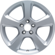 "Alloy Wheel 17"" 5-spoke design, Sparkle Silver"