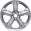 "Alloy Wheel 18"" 5-spoke design, Mystique Silver"