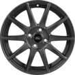 "Llanta Performance de 17"" llanta flow-form ligera con logo Ford Performance, diseño de 10 radios, en color magnetita mate."